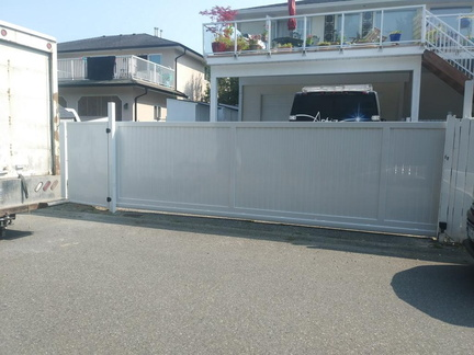 privacy sliding gate
